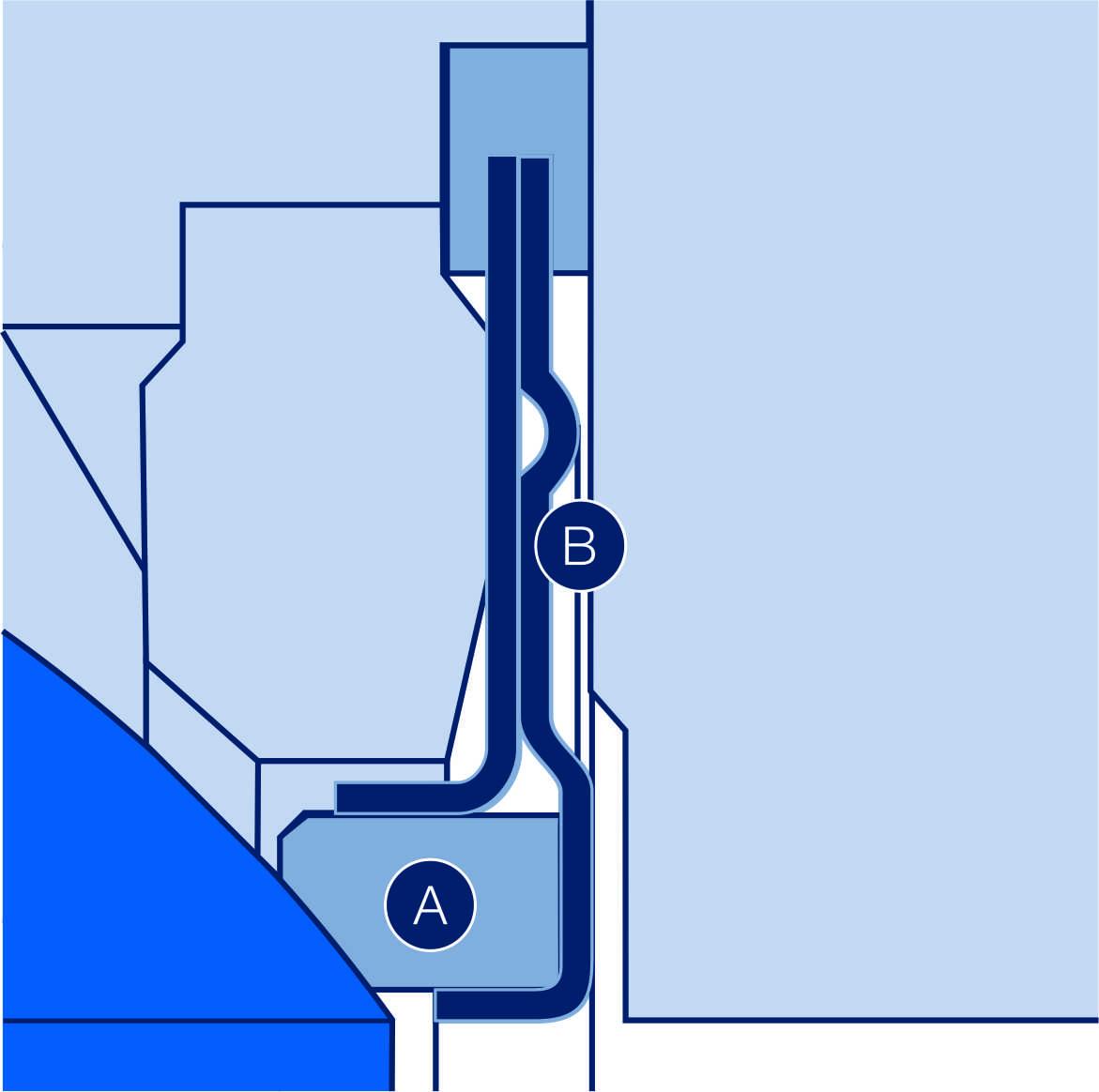 Sphere valve Scheme